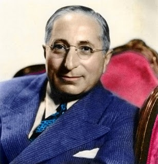Louis B.  Mayer - studio portrait