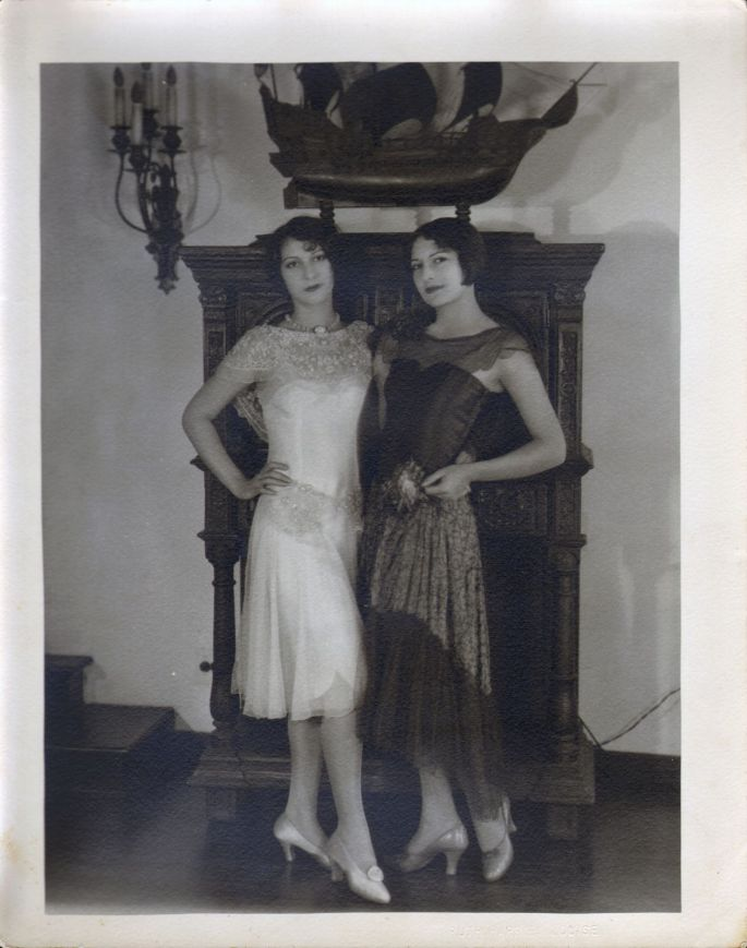 Edie and Irene Mayer