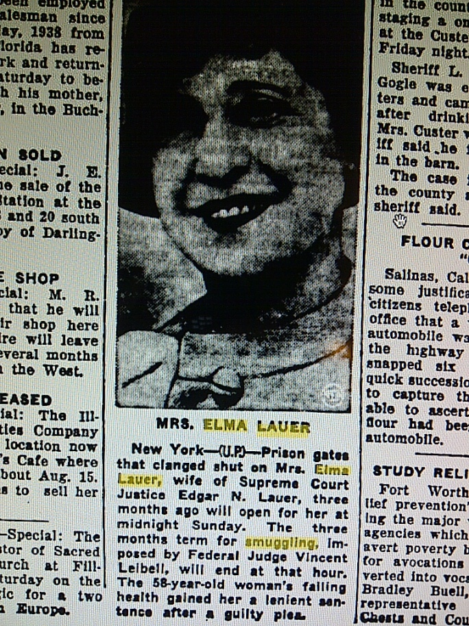 elma lauer clipping