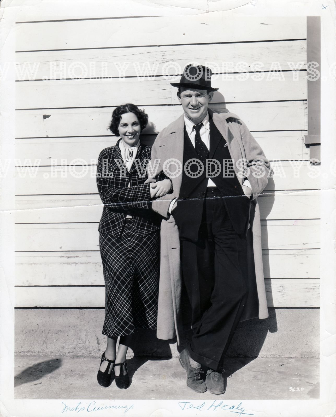 Mitzi with Ted Healy