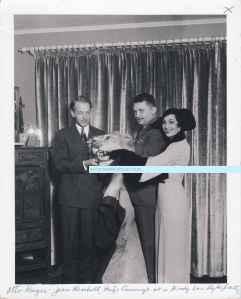 Mitzi Otto Kruger Jean Hersholt W S Van Dyke party watermark