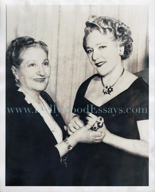 Ida Mayer Cummings and Mary Pickford
