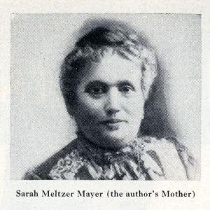 Sarah Meltzer Mayer