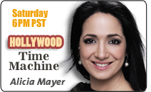 Alicia Mayer and Hollywood Time Machine