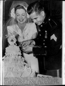 eleanor powell glenn ford wed oct 1943