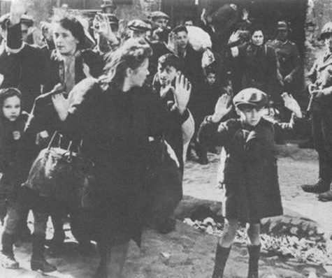 jews being rounded up