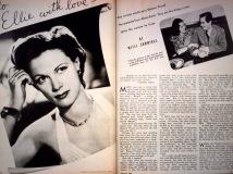 Mitzi Photoplay re Eleanor Powell and Glenn Ford romance Jan 1943