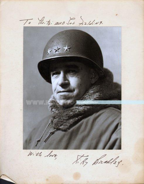 Gen Omar Bradley watermark