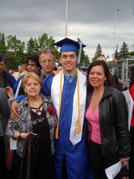 Tristan graduated