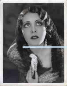 Fay Wray signed to Mitzi watermark