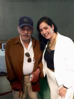 Alicia with Oscar Vizcarria who worked at MGM