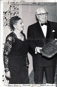 Ida and Louis w plaque 1952 watermark