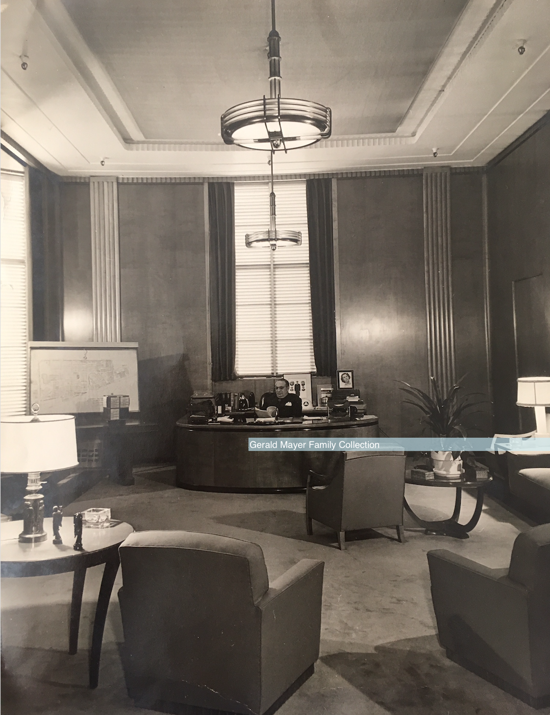 Jerry Mayer MGM Studio Manager Office Watermark