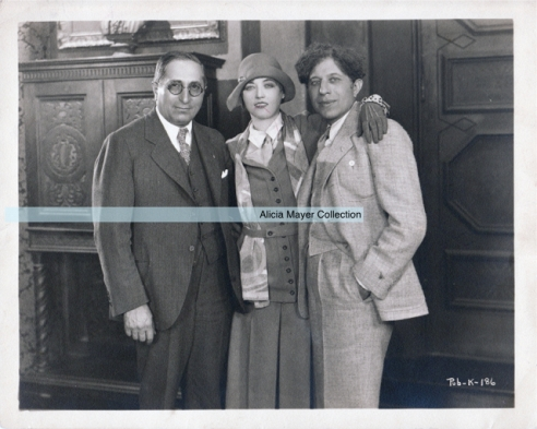 Louis B Mayer Marion Davies Sid Grauman watermark