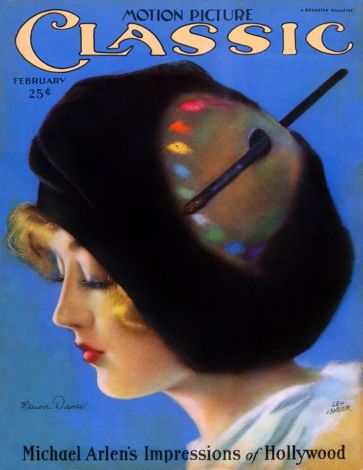 marion davies motion picture classic mag feb 26 front cover matches our pub pic signed to mitzi