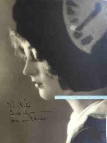 Marion Davies signed to Mitzi poss 1926 watermark