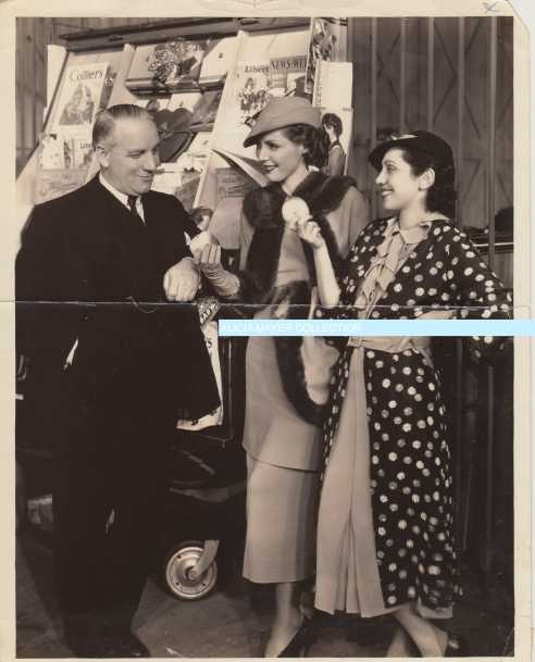 Mitzi Adrienne Ames Allan Dwan in BLACK SHEEP movie 3 watermark