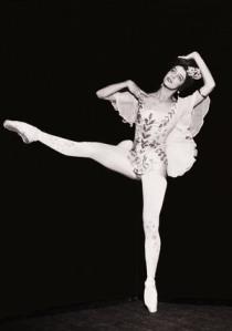 Ballerina Alice Nikitina
