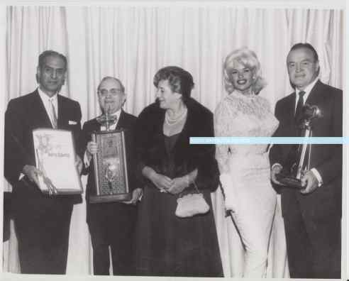 Jayne Mansfield Harry Seelig Bob Hope Others JHA watermark