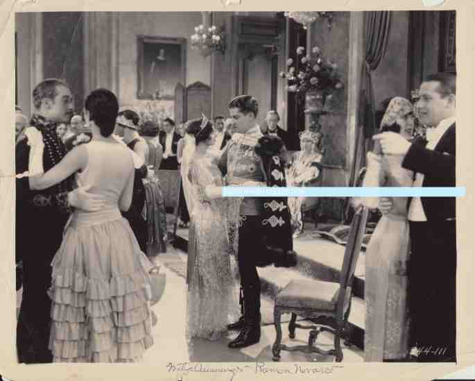 Mitzi Cummings Ramon Novarro FORBIDDEN HOURS 1928 dance scene watermark