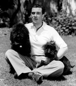 walter pidgeon with dogs