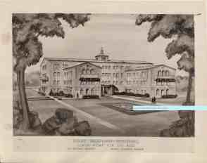 Mary Pickford architectural drawing JHA watermark