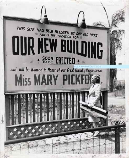 Mary Pickford new JHA building sign watermark