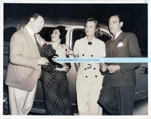 MCF 066 Edward Arnold Mitzi Binnie Barnes and director Jean Negulesco c 1939 watermark
