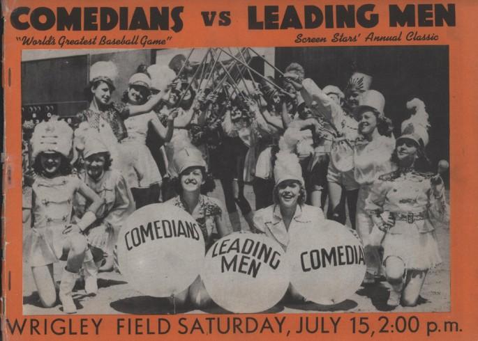 Comedians vs Leading Men Annual Classic July 15 Wrigley Field