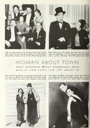 Mitzi March Photoplay 1935 one pg
