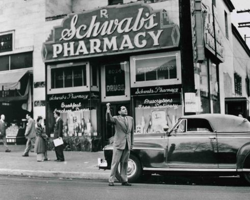 Schwab's Pharmacy 1945